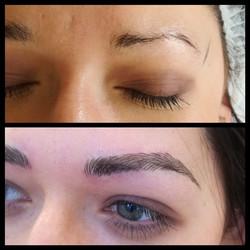 semi-perm brows