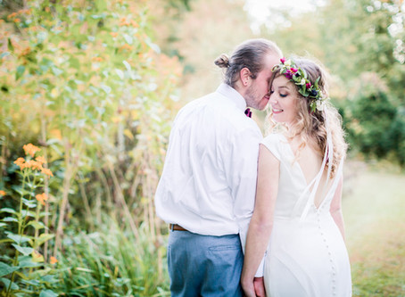 Matt & Molly \\ Outdoor Farmhouse, DE \\ Wedding