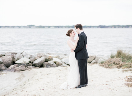 Zack & Shelby \\ Peninsula On The Indian River Bay Wedding \\ Delaware Wedding Photographer