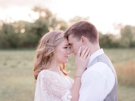 Jacob & Nicole \\ Prancing Deer Farm Wedding \\ Warwick, Maryland Wedding Photographer