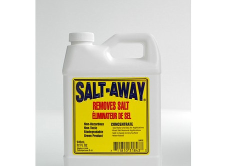 I use salt remover for washing the boat down. Is that good practice or a waste of money?