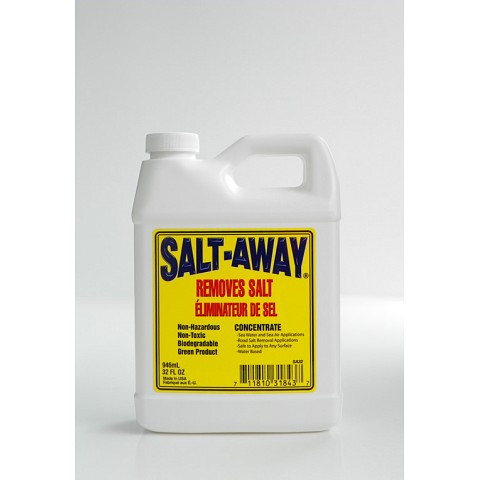 Salt-Away removes salt