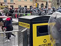 Melbourne Australia: Police Fire Rubber Bullets At Anti-Vax Protesters