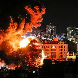 Israel Bombs Multiple Targets In Gaza