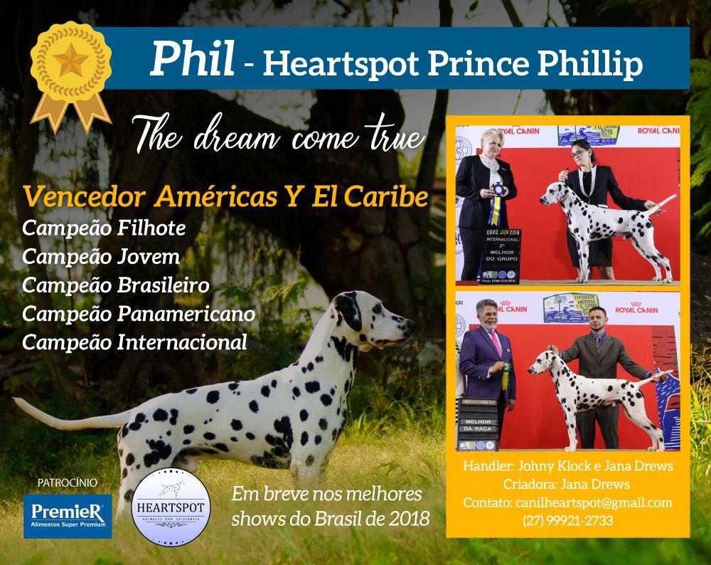 Phil, nosso Vencedor Américas y el Caribe, temos muito orgulho de você!!!!