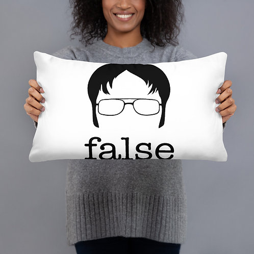 Fact/False The Office Pillow