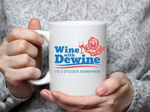 Wine with Dewine Mug