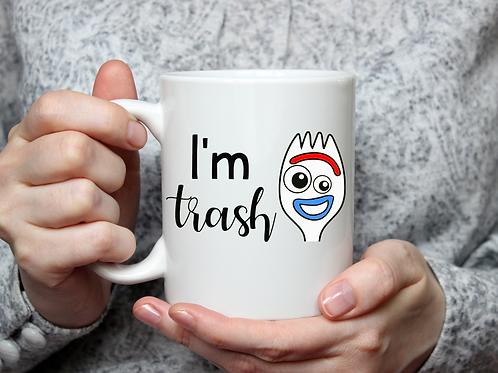 I'm trash mug
