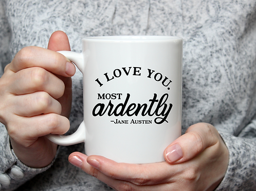 I Love You Ardently Mug