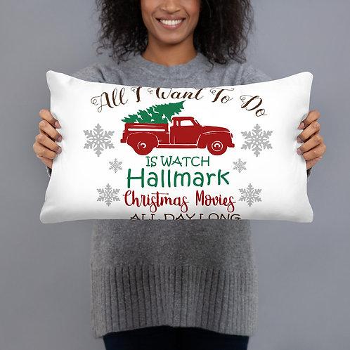 Hallmark Movie Pillow