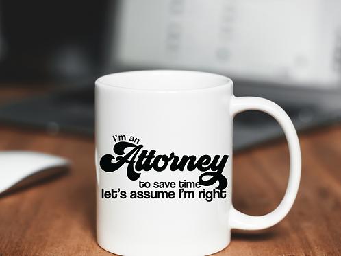Attorney's Right Mug