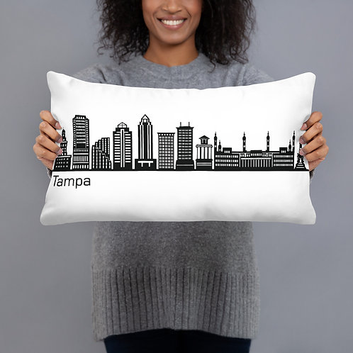Tampa Skyline Pillow