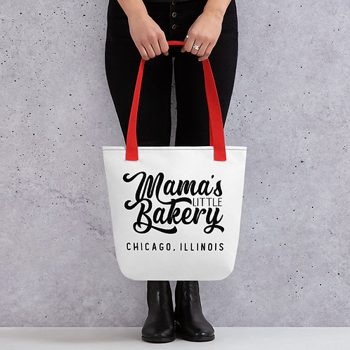 Mama's Little Bakery Friends TV Show Cheesecake Tote bag