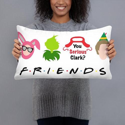 Christmas Character Friends Basic Pillow