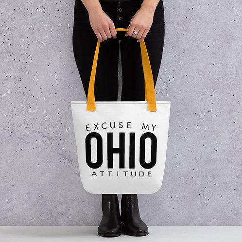 Excuse My Ohio Attitude Tote Bag