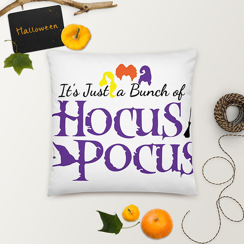 Just a Bunch of Hocus Pocus Basic Pillow