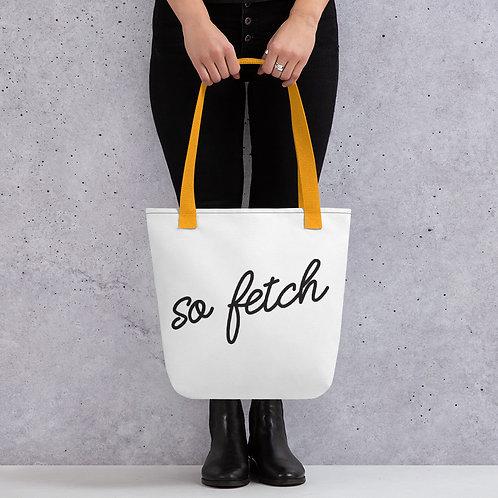 So Fetch Mean Girls Tote bag