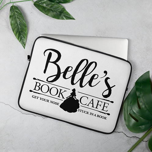 Belle's Book Cafe Laptop Sleeve