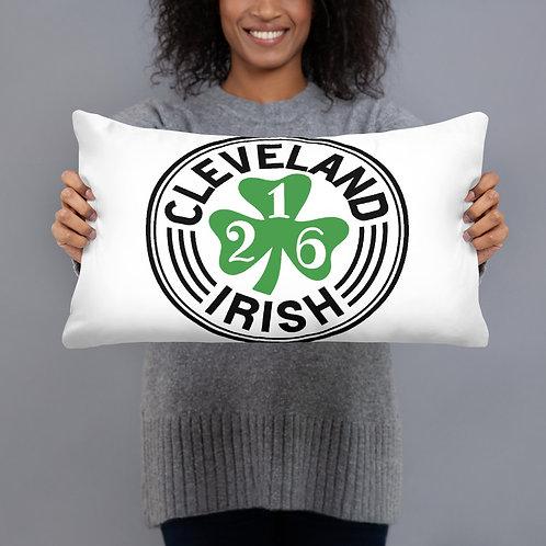 Cleveland Irish 216 Ohio Pillow