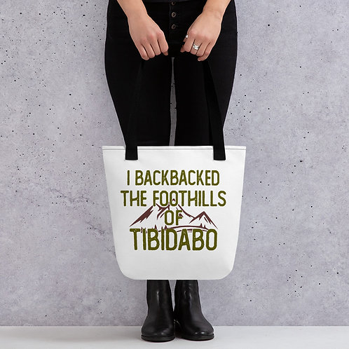 Backpacked The Foothills Tote bag