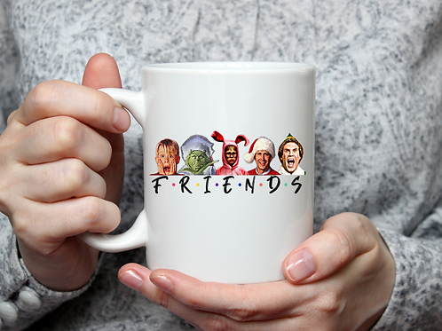 Christmas friends- realistic