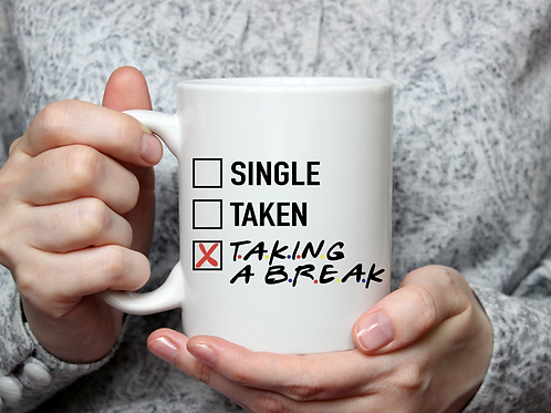 Taking a Break Mug