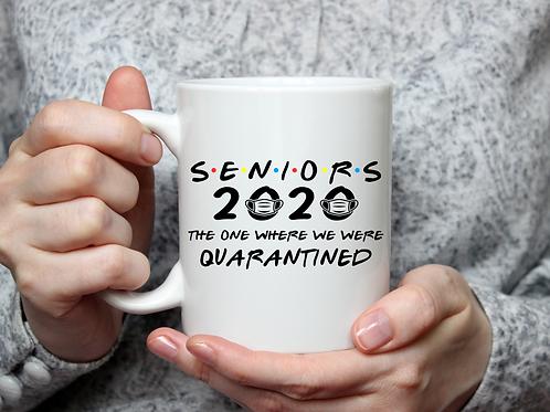 Seniors 2020 The One Where... mug