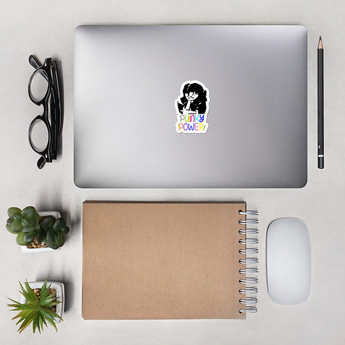 Punky Power Bubble-free stickers