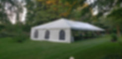 frame tent with sidewalls