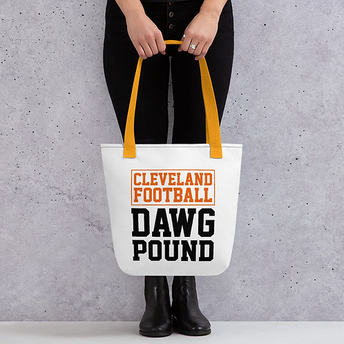 Dawg Pound Cleveland Tote Bag