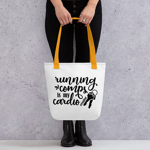 Real Estate Life Comps & Cardio Tote Bag