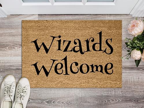 Wizards Welcome 18x30 Coir Doormat