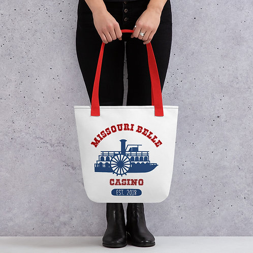 Missouri Belle Casino Tote bag