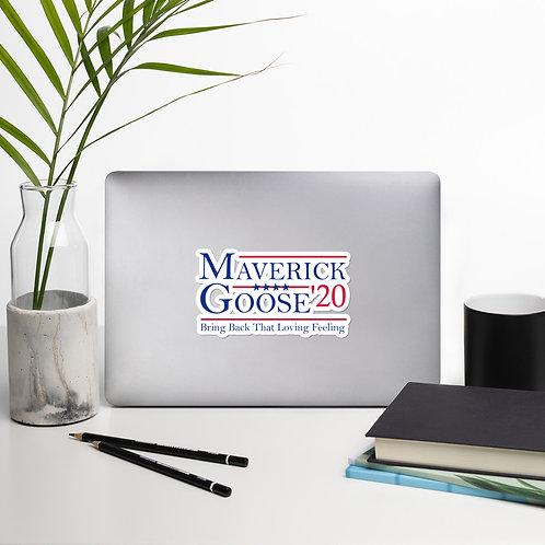 Maverick and Goose 2020 Bubble-free stickers