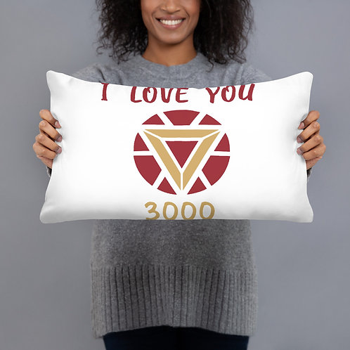 I Love You 3000 Pillow