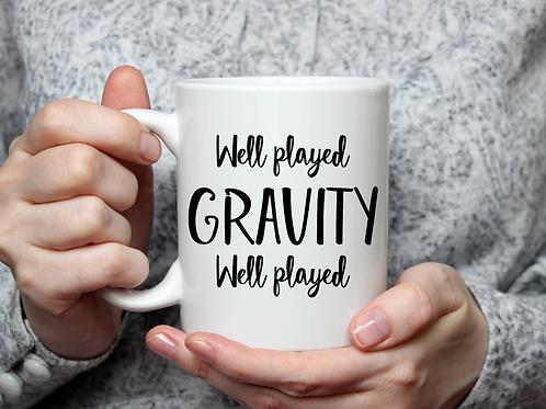 Well Played Gravity Mug