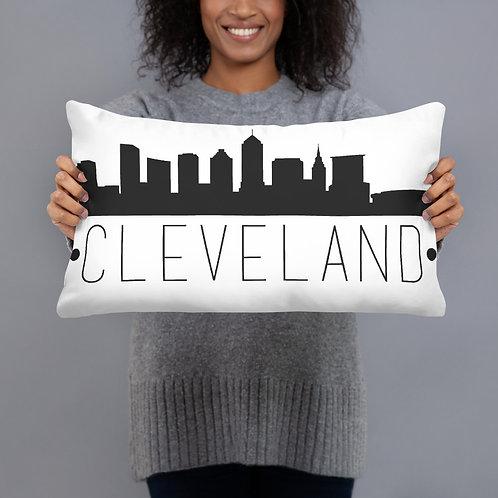 Cleveland Skyline Pillow