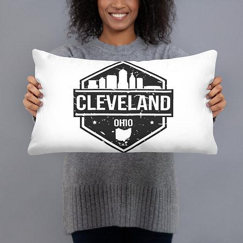CLE Ohio Basic Pillow