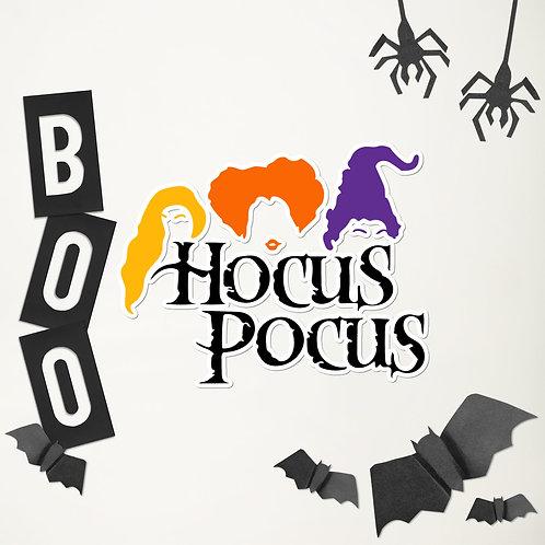 Hocus Pocus Movie Bubble-free stickers