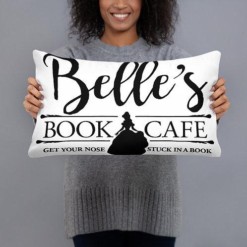Belle's Book Cafe Pillow