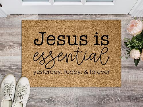 Jesus is essential