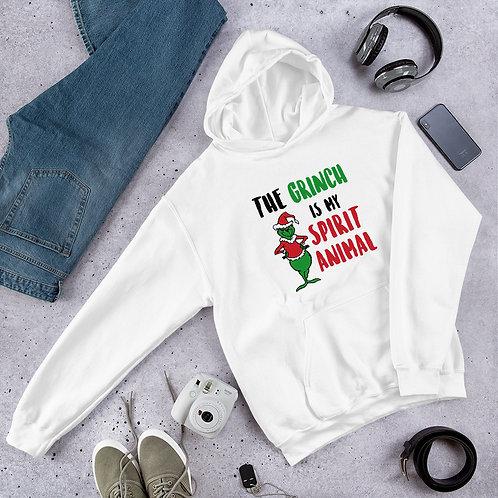 Grinch is My Spirit Animal Unisex Hoodie