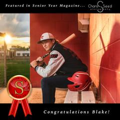 Senior Year Magazine award