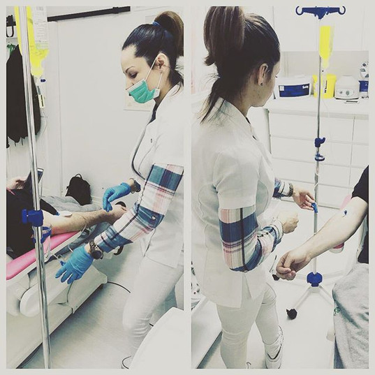 Happy patient 🌡🧪💦💧💉_#drip#vitamins#