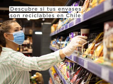 Descubre si tus envases son reciclables en Chile