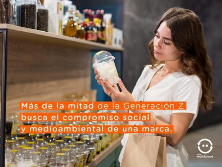 Más de la mitad de la Generación Z busca el compromiso social y medioambiental de una marca.