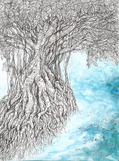 the wriggliest rubber tree (plus vegan piranhas)