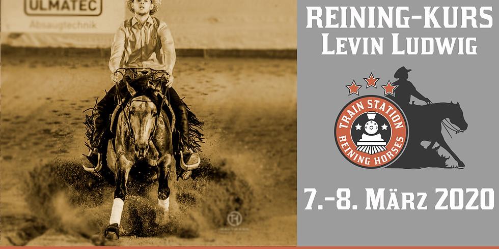 Reining Kurs mit Levin Ludwig