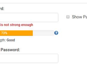 Not Strong Enough