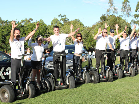 All the way with Segway